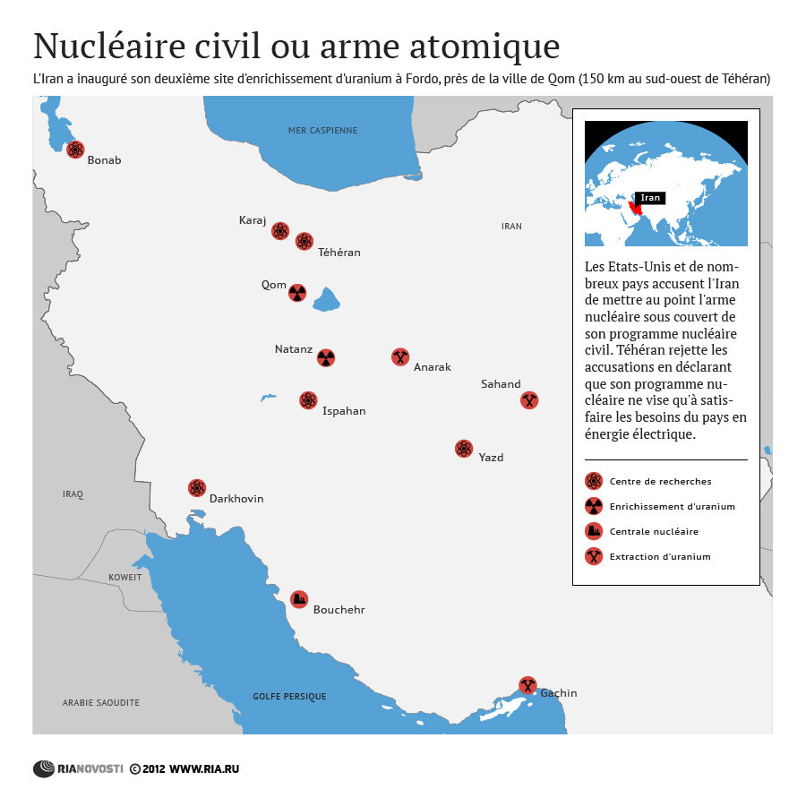 Iran: Nucléaire civil ou arme atomique - Sputnik France