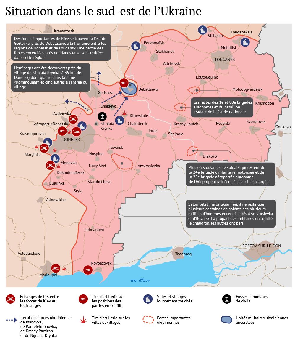 Ukraine: situation dans le Donbass pendant le cessez-le-feu - Sputnik France