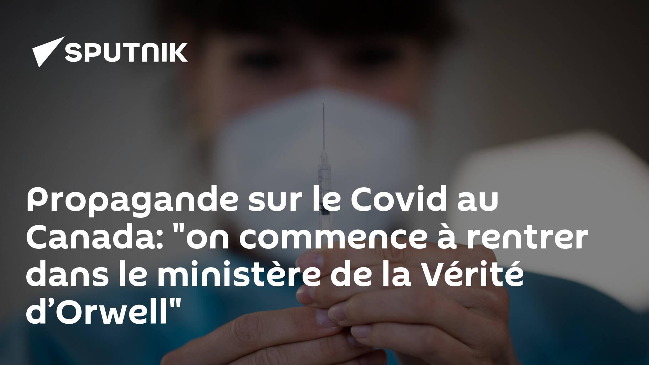 Image Propagande sur le Covid au Canada: