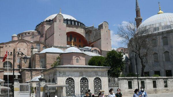 Basilique Sainte-Sophie d'Istanbul - Sputnik France