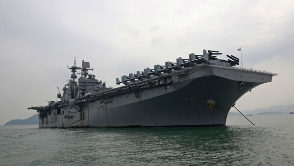 USS Bonhomme Richard - Sputnik France