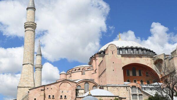 Ancienne basilique Sainte-Sophie d'Istanbul - Sputnik France