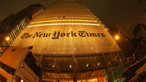 Bâtiment du New York Times - Sputnik France