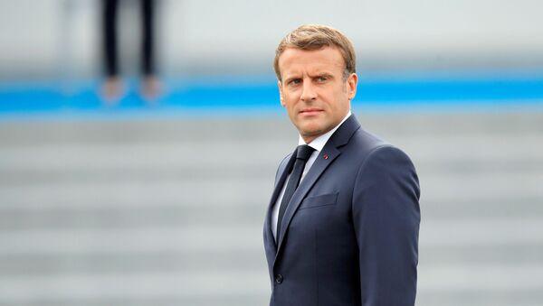 Emmanuel Macron, le 14 juillet 2020 - Sputnik France
