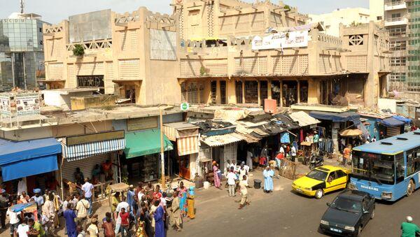 Le marché de Sandaga à Dakar, Sénégal. - Sputnik France