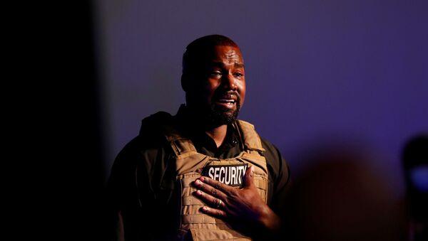 Kanye West tient le 1er meeting de sa campagne présidentielle à Charleston - Sputnik France