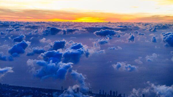 Tableaux exceptionnels offerts par les nuages   - Sputnik France