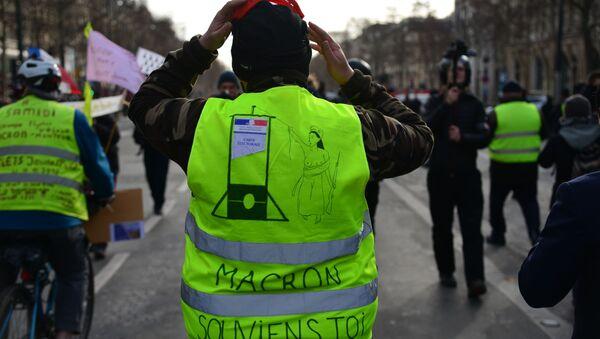 Manifestation des Gilets jaunes à Paris - Sputnik France
