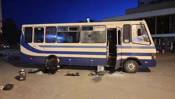 Prise d'otages à Loutsk, en Ukraine - Sputnik France