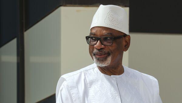 Le Président malien Ibrahim Boubacar Keita - Sputnik France