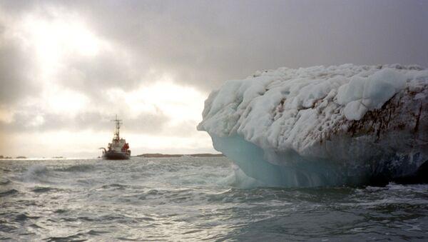 Un glacier de l'archipel de Svalbard, archives     - Sputnik France