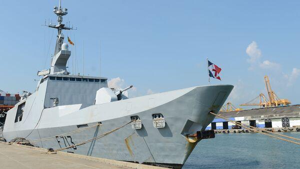 La frégate française Aconit ancré dans le port de Colombo au Sri Lanka le 29 avril 2016.  - Sputnik France
