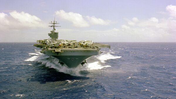 USS Dwight D.Eisenhower - Sputnik France