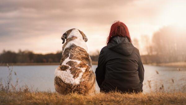 Un chien et son humain  - Sputnik France