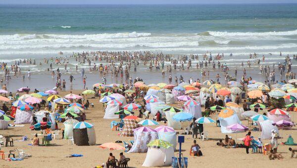 Des vues des plages de Ain Sebaa, Ain Diab et Tamaris à Casablanca - Sputnik France