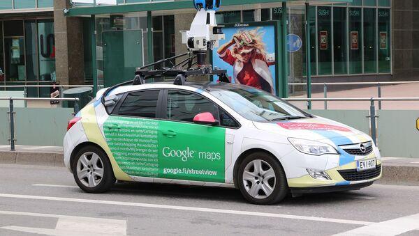 Une voiture Google Maps - Sputnik France