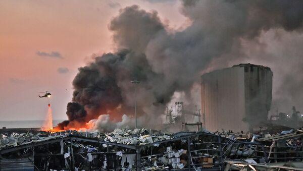 Explosion à Beyrouth - Sputnik France