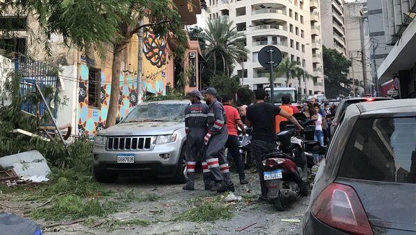 Explosions près du port de Beyrouth, 4 août 2020 - Sputnik France