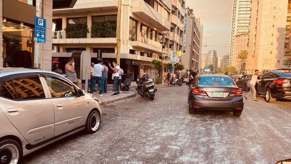 Beyrouth après l'explosion du 4 août 2020 (archive photo) - Sputnik France