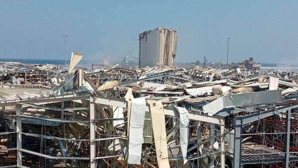 Explosion à Beyrouth au Liban - Sputnik France