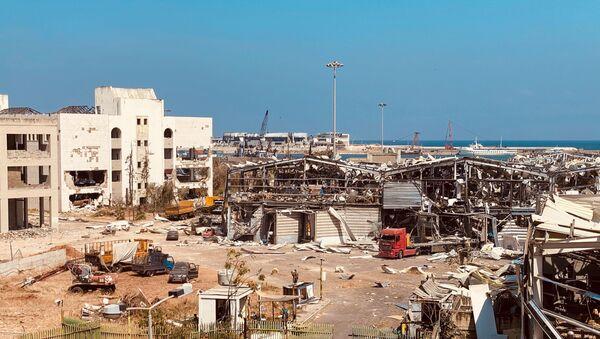 Les conséquences de l'explosion dans le port de Beyrouth, le 4 août - Sputnik France