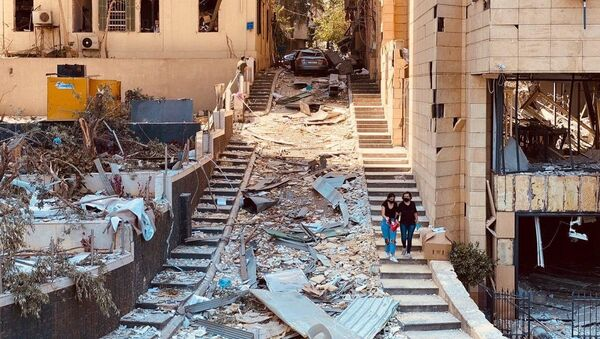 Beyrouth après les explosions, 5 août 2020 - Sputnik France