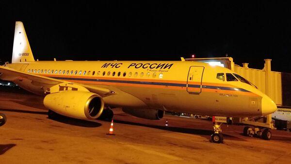 Le premier des cinq avions que prévoit d'envoyer le ministère russe des Situations d'urgence à Beyrouth vient de se poser dans la capitale libanaise - Sputnik France