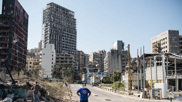 Beyrouth après la double explosion - Sputnik France