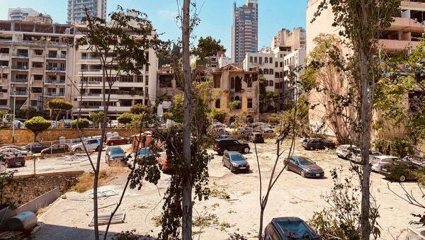 Beyrouth au lendemain de l'explosion de nitrate d'ammonium dans le port (août 2020) - Sputnik France