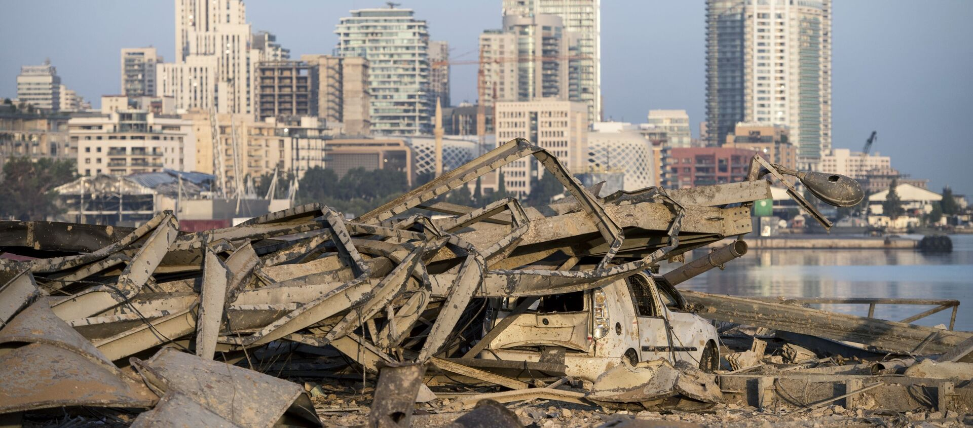 Conséquences de l'explosion dans le port de Beyrouth - Sputnik France, 1920, 03.08.2021