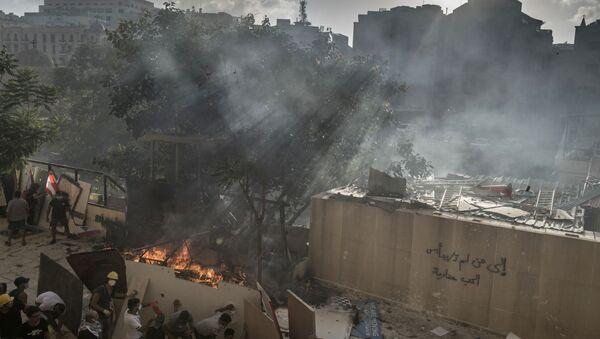 Affrontements au centre de Beyrouth  - Sputnik France