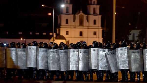 Heurts entre manifestants et policiers à Minsk - Sputnik France