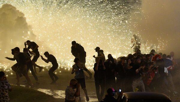 Émeutes à Minsk  - Sputnik France