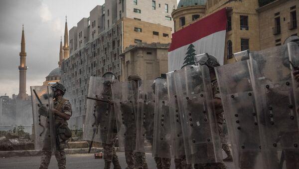 Manifestations à Beyrouth  - Sputnik France