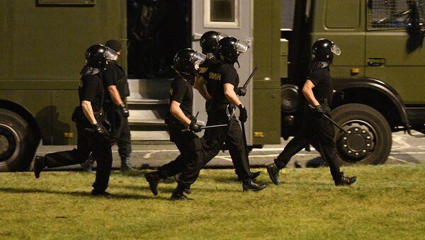 Émeutes du 9 août à Minsk  - Sputnik France