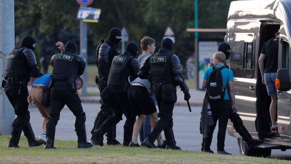 Manifestations à Minsk, Biélorussie - Sputnik France