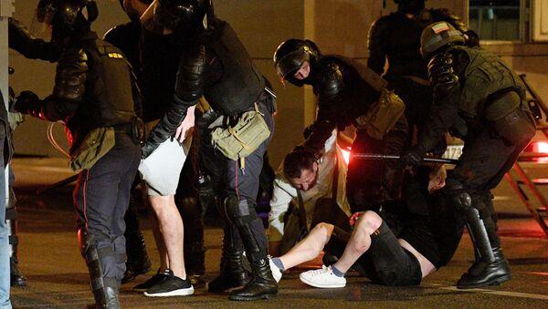 Situation à Minsk plus tôt dans la soirée du 11 août      - Sputnik France