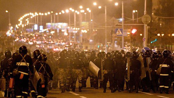 Situation à Minsk, le 11 août 2020 - Sputnik France