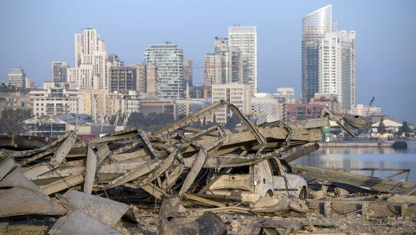 Beyrouth après l'explosion - Sputnik France