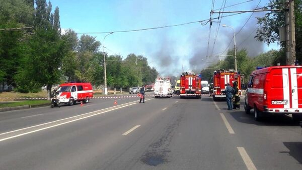 Une station-service explose à Volgograd - Sputnik France