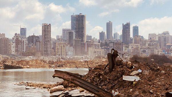 Port de Beyrouth après l'explosion  - Sputnik France