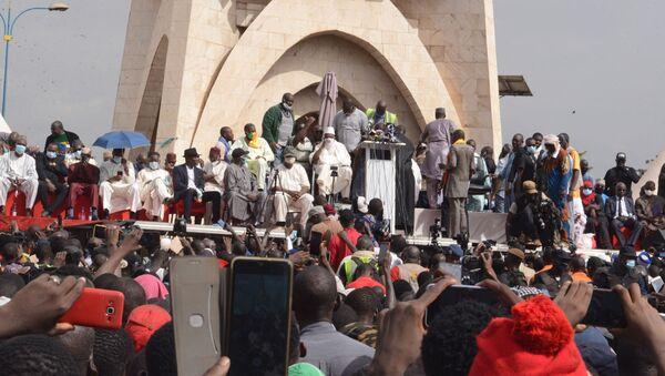 Manifestation du M5-RFP du 5 juin 2020 à Bamako (Mali). - Sputnik France