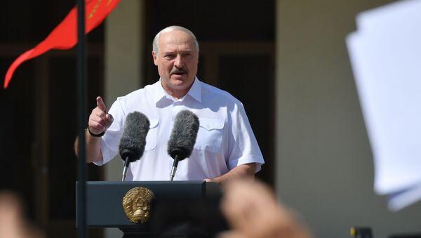 Alexandre Loukachenko le 16 août 2020 - Sputnik France