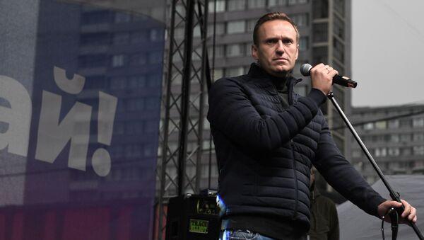 Alexeï Navalny, archives  - Sputnik France