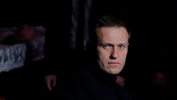 Alexeï Navalny, image d'archives - Sputnik France