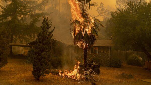 La Californie ravagée par les flammes, le 18 août - Sputnik France
