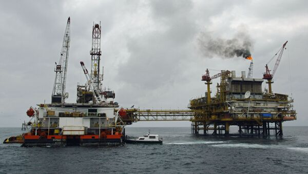 Plateforme pétrolière offshore - Sputnik France