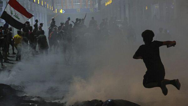 Protestations en Irak. Image d'illustration - Sputnik France