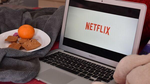 Logo de Netflix - Sputnik France