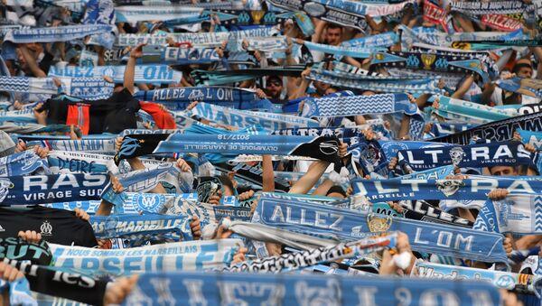 Des supporters de l'Olympique de Marseille (archive photo) - Sputnik France